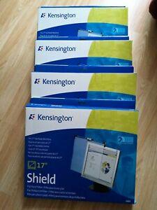 "Job Lot o 4 Kensington 17"" Flat Panel Monitor Shield Privacy 55664 5028252149389"
