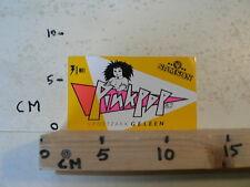 STICKER,DECAL PINKPOP GELEEN 31 MEI 1982 SAMSON MUSIC