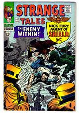 STRANGE TALES #147 in FN a MARVEL comics 1966 DOCTOR STRANGE & NICK FURY