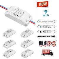 Smart WIFI Light Switch Module Voice Control Remote For Alexa Google Home IFTTT
