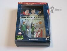 Justice League The New Frontier DVD 2-Disc Special Edition Green Lantern Figure
