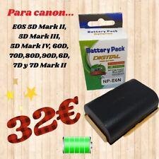 bateria recargable para camara canon LP-E6N