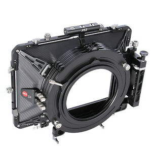 "JTZ DP30 Cine Carbon Fiber 6""x6"" Matte Box 15mm/19mm For Sony ARRI RED CANON BMD"