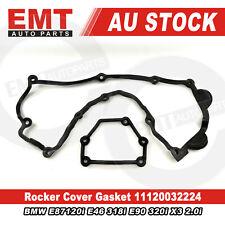 Rocker Cover Gasket For BMW E87120i E46 318i E90 320i X3 2.0i 11120032224 Black