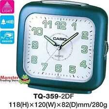 AUSSIE SELLER CASIO ALARM DESK CLOCK TQ-359-2DF TQ359 NEW 12 MONTH WARRANTY