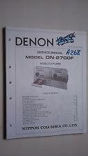 Denon dn-2700f service manual original repair book stereo cd player