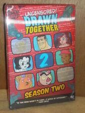 Drawn Together - Season 2 (DVD, 2007) Adam Carolla Jess Harnell Abbey McBride