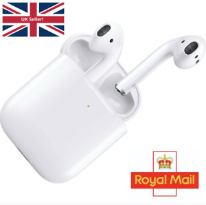 Apple AirPods 2nd Generation with Wireless Charging Case White Free Post UK