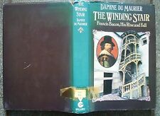 DAPHNE DU MAURIER THE WINDING STAIR FRANCIS BACON BIOGRAPHY 1ST ED GOLLANCZ 1976