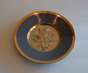 Vintage Chokin Decorative Plate