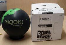 = 15# 2oz TW 3-3/4 NIB 900 Global Hook Reactive Bowling Ball Matte 4000 Abralon