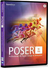 Smith Micro Poser Pro 11 , New Retail Box  - PSRPRO11HDVD