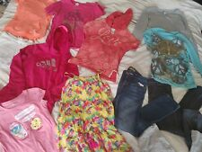 Girls Size 10-12 Clothing 15 pc Lot Outfits Summer jeans 12S 12R shorts hoodie