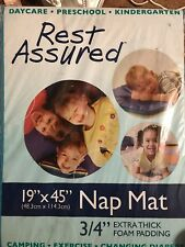 "Nap Mat. 19"" X 45"". 3/4 "" Extra Thick Foam Padding"