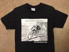 Vintage Cafe Racer Flat Tracker Skull T-Shirt - Cleveland Press XXL