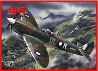 ICM 1/48 Spitfire Mk VIII British Fighter WWII # 48067