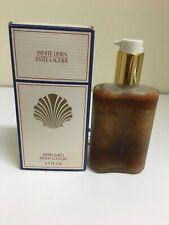 Vintage - White Linen by Estee Lauder Perfumed Body Lotion -4.5 fl oz - Vintage
