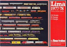 Lima Trains 1977-1978 Catalogue 00, N & 0 Gauges New Rare in This Condition 1stP