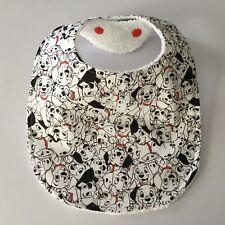 Handmade Baby Bib ~ 101 Dalmatians Print