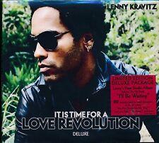 LENNY KRAVITZ  IT IS TIME FOR A LOVE REVOLUTION CD DVD NEW