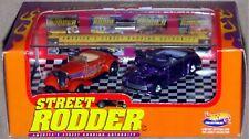 1998 Hot Wheels Street Rodder Limited Edition 2 Car Commemorative Set