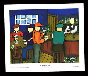 Poker Night/Cards/Bar/N/Irish Art Group/Fine Print/Martin Laverty/Ireland/New