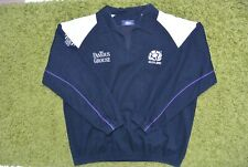Vintage Scotland 1998 Rugby Union Drill Top Cotton Oxford Size L IEV