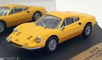 Vitesse 1/43 Scale Model Car 017 - 1968 Ferrari Dino 246GT - Yellow
