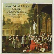 Fasch / Mertens / York / Daniel / Ad-El - Overture in D minor [New CD]
