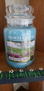 Yankee Candle Morning Mist Large 22oz. Jar Candle New!