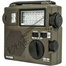 Tecsun GREEN-88 (GR-88) Self-Powered Emergency Hand Crank Radio Receiver New