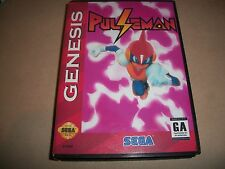 Sega Genesis Pulseman NTSC Game English translation + Box
