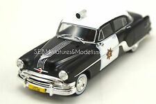PONTIAC CHIEFTAIN PATROUILLE POLICE USA CALIFORNIA 1/43 WHITEBOX SE16SP