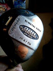 Cheap Starter Dunlop DDH Bi-Metal Copper & Steelcore Driver Reg Steel Shaft GC