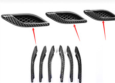 Carbon Fiber Air Vent Hood Intake Fender Cover For Maserati Ghibli 2014-2016