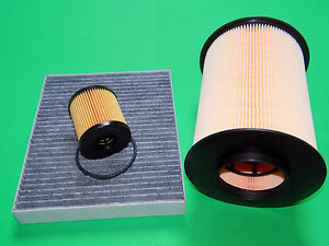 kl. Filterset Filtersatz Inspektionspaket Ford C-Max I 2.0 TDCi (81-100kW)