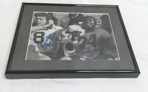 UGA University Georgia Bulldog signed photo Buck Belue Lindsey Scott 1980 Dawgs
