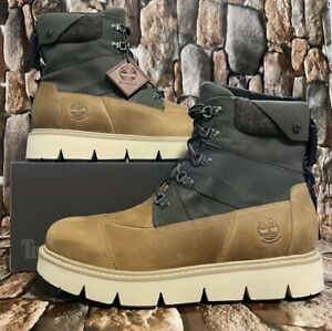 TIMBERLAND MEN'S RAYWOOD EK+ 6 IN BOOT WHEAT FULL GRAIN STYLE A2EH6 SIZE 10M