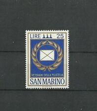 San Marino 1972 Veterans of philately  MNH