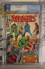 Avengers #81 PGX 8.0 1970 CGC White Pages Early Graded
