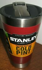 STANLEY Vacuum Insulated COLD PINT built-in Bottle Opener TUMBLER MUG Beer 16 oz