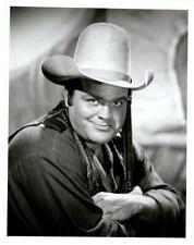 Bonanza Dan Blocker as Hoss TV Western Rare Original Stamped Portrait Photo