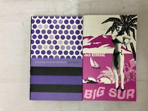 2x Flamingo Books Jack Kerouac Big Sur 1963 & Joan Didion Slouching Towards 1968