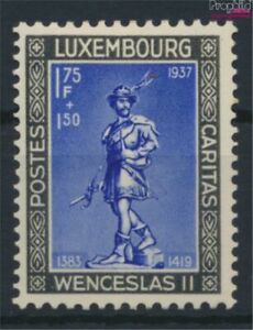 Luxembourg 308 with hinge 1937 Children's Aid (9613534