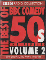 Best of BBC Comedy 50s Fifties Vol 2 BBC Radio Comedy 4 Cassette Audio FASTPOST