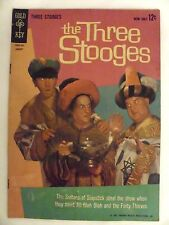 The Three Stooges #11 Comic Book (1963)  Vg/Fn  Gold Key