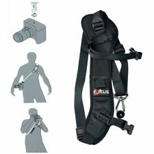 Focus F-1  Black Shoulder Belt Neck Sling Quick Rapid Camera Strap for SLR DSLR