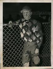 1940 Press Photo  00006000 Jockey Basil James at Jamaica track in Ny - nes28524