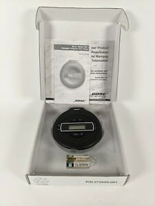 NEW BOSE Portable CD Player Black PM-1 In Box with Manuals - Free Shipping!
