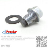 - M12x1.25 BLUE 12mm plug Holden Commodore VL Magnetic Oil Sump Drain Plug